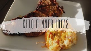 Three Simple Keto Dinner Ideas | Keto Journey