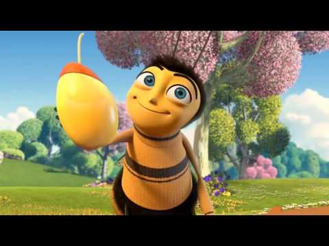 The Bee movie trailer but every time they say bee the bass gets boosted