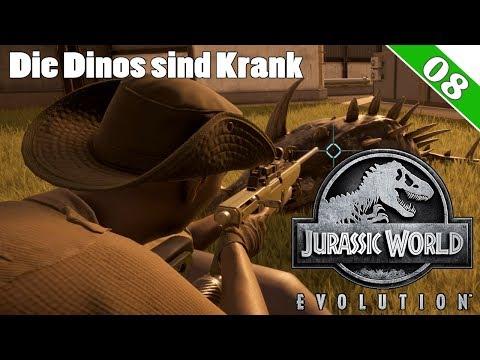 Jurassic World Evolution Deutsch ► Dino-Ausbruch und Krankheit | Let's Play