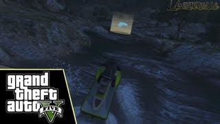 Grand Theft Auto V, PS3 - Sea Race #3 / Ration Canyon - 100%