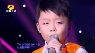 Download Lagu anak kecil suara emas bikin merinding dengan lagu YOU RAISE ME UP Gratis STAFABAND