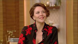 Maggie Gyllenhaal Spent Her Summer Eating Her Husband's Pizza