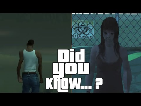 GTA San Andreas Secrets and Facts