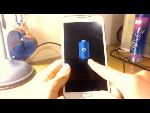 How to turn on your Samsung Galaxy Note 2 without the power button