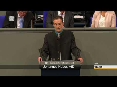 Johannes Huber AFD zu Ernährung und Landwirtschaft vom 15.05.2018