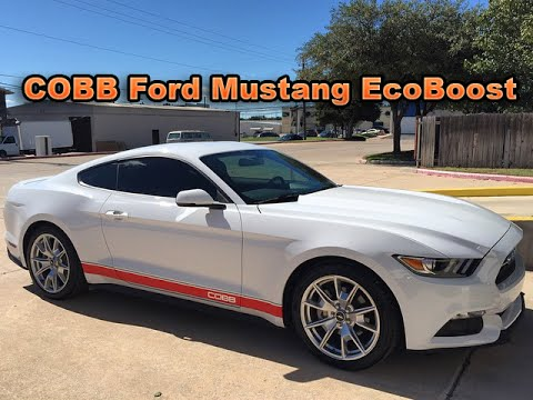2015 Mustang Ecoboost Tune >> 2015 Ford Mustang EcoBoost by COBB Tuning - YouTube