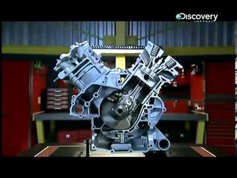 Работа 4х тактного двигателя