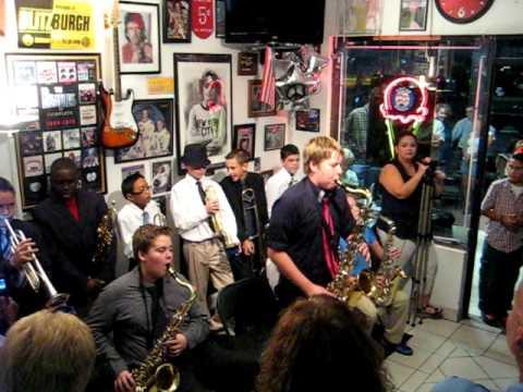 Gator Jazz Band (Allapattah Flats K-8 School) - Tenor Madness - Live at Sixty Sundaes