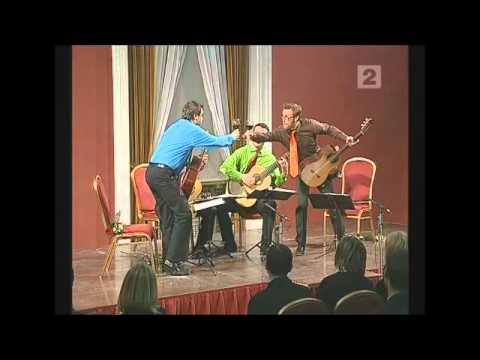 Baltic Guitar Quartet plays Malamatina by Carlo Domeniconi