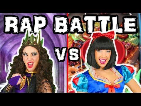 Princess Music Video Snow White vs Evil Queen. Disney Toys Fan.