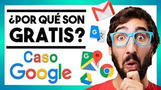 😯 ¿Cómo consigue Google darlo todo gratis?   Caso Google