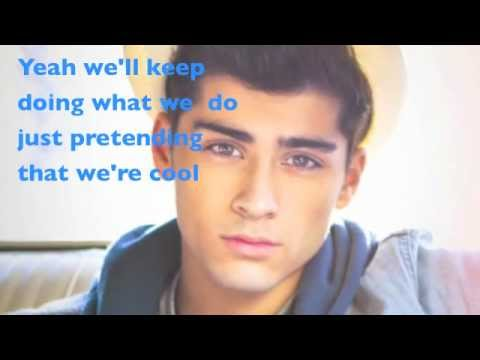 One Direction- Live While We're Young (lyrics+pictures) video