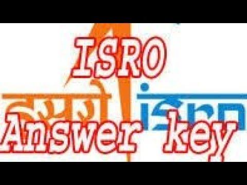 ISRO civil engineering Answer Key 22 april 2018