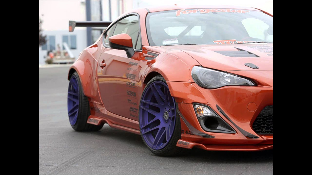 Subaru BRZ Wide Body Kit Some of the Hottest - YouTube
