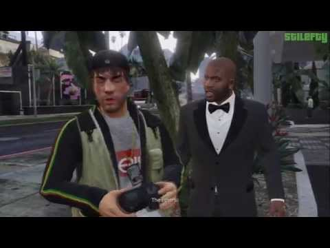 GTA 5 - PS3 - Strangers and Freaks Mission #18 - Paparazzo - Reality Check [100% - Gold Medal]