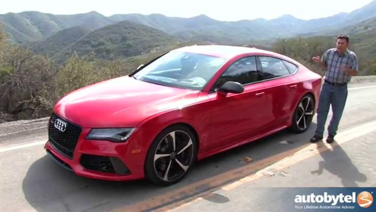 2014 Audi Rs7 Test Drive Video Review Youtube