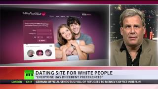 Whites-only dating site stirs anger - but it's a hit