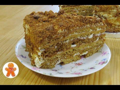 """Медовый торт """"Посольский"""""""