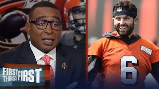Cris Carter: If you question Baker Mayfield and his ability, you're wrong | NFL | FIRST THINGS FIRST