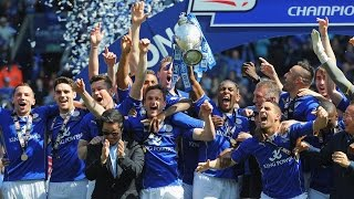Leicester City Football Club CELEBRATING!