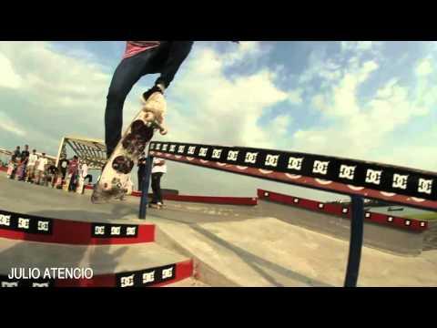 Julio Atencio - Skateboarding panama