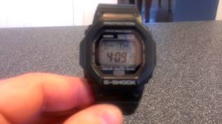"Casio G-Shock Watch Review - GW5600J-1 ""The G""  (Wave Ceptor)"