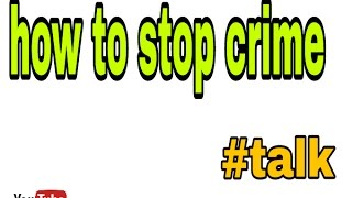 how to stop cyber crime