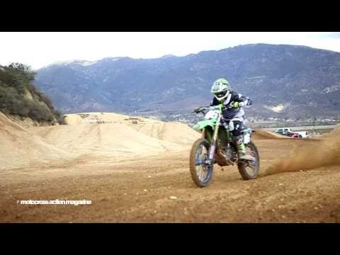 Adam Cianciarulo Preps For 2014 Supercross -motocross Action Magazine video