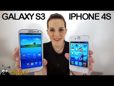 Samsung Galaxy S3 vs Apple iPhone 4S #Videorama comparativa