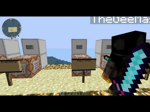 Minecraft Pc 1.7.10   Tutorial Thursday   How To Use Command Blocks