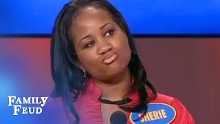 Steve's Favorite Question Ever! | Family Feud