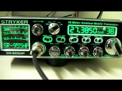 Stryker SR-955HP Wattage TX & RX Audio Samples + Software Demo