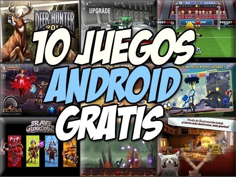 TOP 10 juegos para android GRATIS DESTACADOS| Deer Hunter 2014 Happy Tech