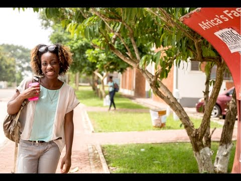 VLOG 1 | Studying abroad in Ghana | photoshoot, hall week, radio univers,