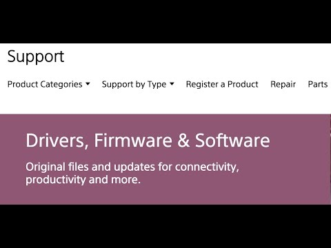 Sony TV Firmware Update Tutorial - How to Download and Install Sony TV Firmware Update