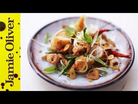 How To Prep Squid | Jamie's Comfort Food | Pete Begg