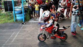 Pembalap Cilik MiniGP Sudah Berani Gaspollll di Sirkuit GDS