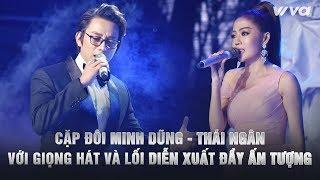 Cặp đôi Minh Dũng - Thái Ngân làm khán giả thích thú bởi giọng hát và lối diễn xuất đầy ấn tượng