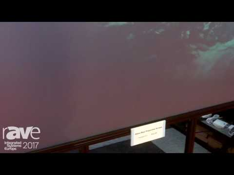 ISE 2017: Comte Vision Shows Off Glass Rear Projection Screen
