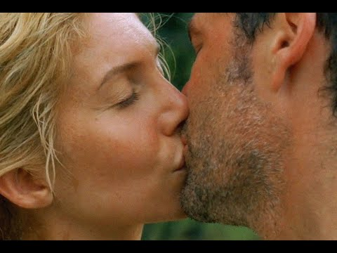 Juliet Burke - 110 - Juliet and Jack first kiss - LOST