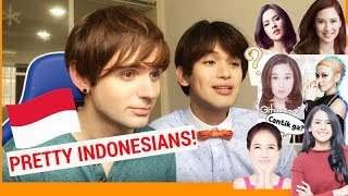 Download Lagu WHO'S THE PRETTIEST INDONESIAN? (Foreigners saw Indonesian Stars for the first time) Gratis STAFABAND