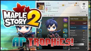 Maplestory 2 - [Guide] - AP Trophies From Field & Dungeons!