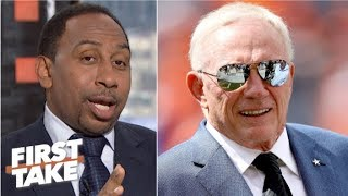 Stephen A. sides with Jerry Jones in the 'Zeke who?' joke controversy | First Take