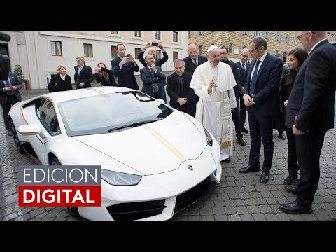 ¿Qué hará el papa Francisco con el lujoso Lamborghini que le regalaron?