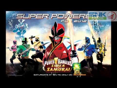 Go Go Power Rangers! 2012 Super Samurai Remix