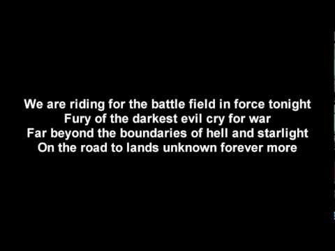 Dragonforce - Fury Of The Storm | Lyrics On Screen | Hd video