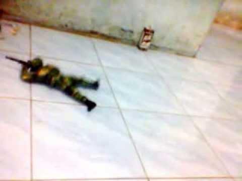 Army Robot Mini Killing