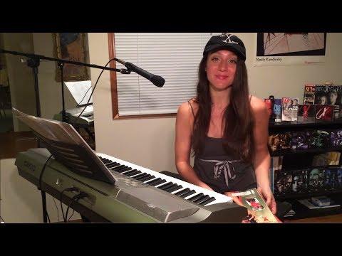 Ashley sings David Duchovny (Bree Sharp)