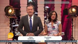 [HD] Good Morning Britain: Oscars Special - Monday 29 February 2016