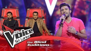 Tharaka Fernando -  Hiruge Lowedi Blind Auditions | The Voice Sri Lanka